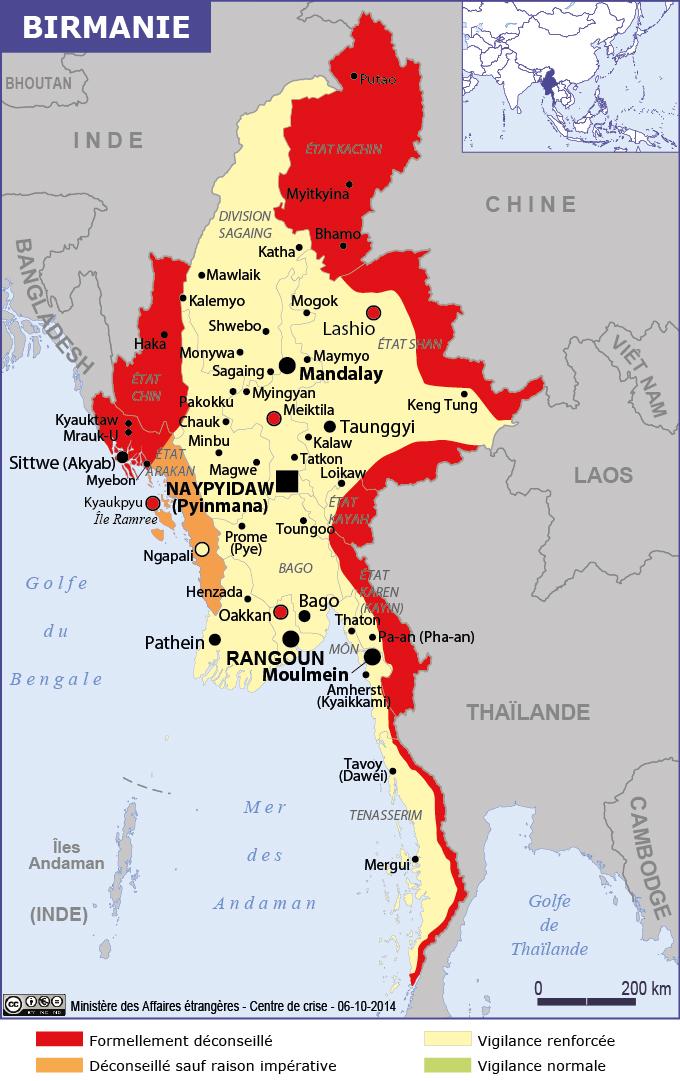 Assez Cap sur la Birmanie | sur place et à emporter WQ97